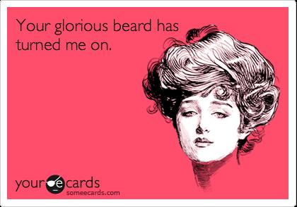 Ženy mají rády vousy.