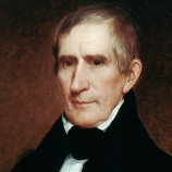 Oponent William H. Harrison v politické kampani řekl