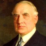 Warren G. Harding jednou prohrál sadu jemného porcelánu z majetku Bílého domu.
