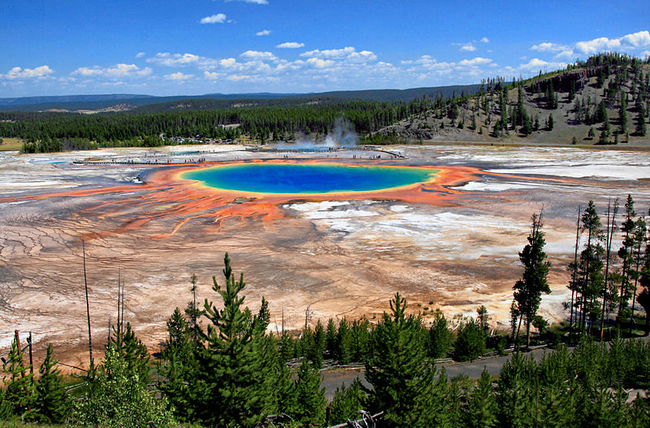 Grand Prismatic Spring, Wyoming, USA