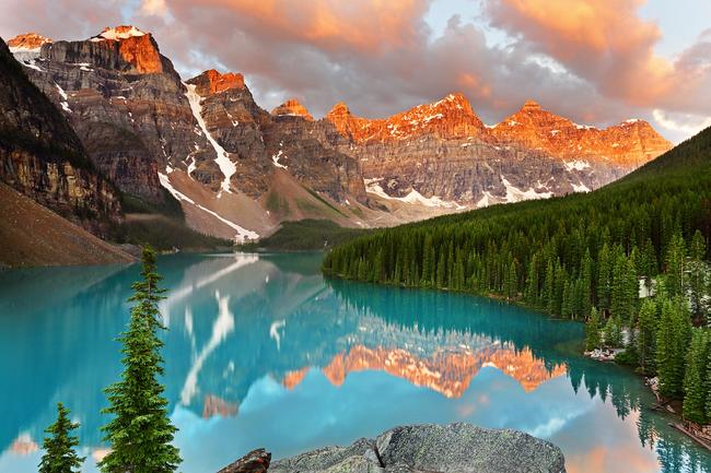 Moraine Lake, Alberta, Kanada