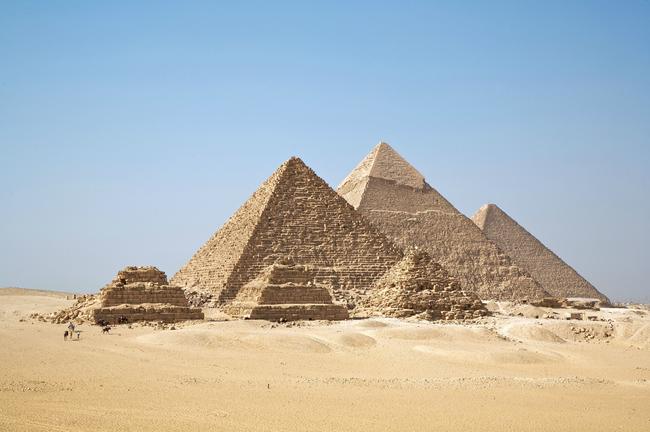 Autor Orion Mystery Robert Bauval tvrdí, že pyramidy jsou symetrií s Orion souhvězdím