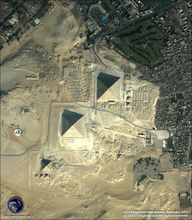 Ignác z Loyoly Donnelly, bývalý kongresman z Minnesoty, napsal v roce 1882, že obyvatelé fiktivního města Atlantidy postavil pyramidy v období kolonizace