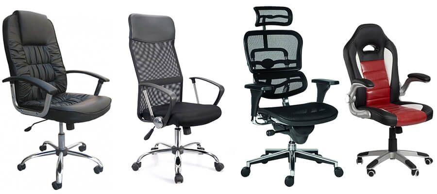 4 židle, se kterými budete žít zdravěji: začněte u kancelářské židle